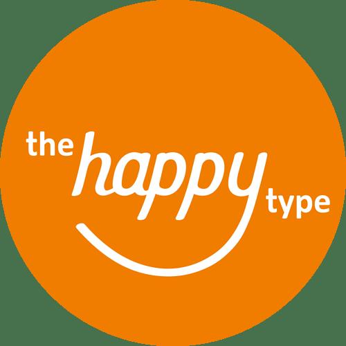 TheHappyType-HandDrawnLogo-Orange