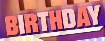 birthday-clean straight font
