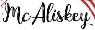 McAliskey School of Dance logo